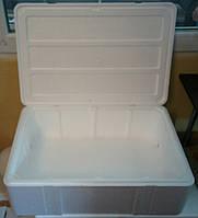 Термоконтейнер из пенополистирола для рыбы, 26 литров