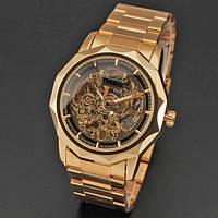 Мужские часы  skeleton