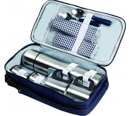 Компактный набор для пикника на 2 персоны HB7-171, 20х9х36 см, 1,2 кг - Сто грамм в Киеве