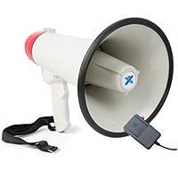 Рупор 1502 Red мегафон (запись голоса/20W/сирена/аккумулятор)