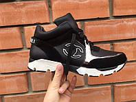 Модные кожаные кроссовки 36 р, фото 1