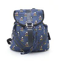 Рюкзак джинсовый городской L. Pigeon