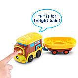 VTech Go! Go!  Железная дорога со звуковыми эффектами Smart Wheels Treasure Mountain Train Adventure, фото 4