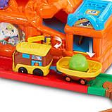 VTech Go! Go!  Железная дорога со звуковыми эффектами Smart Wheels Treasure Mountain Train Adventure, фото 7