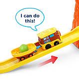 VTech Go! Go!  Железная дорога со звуковыми эффектами Smart Wheels Treasure Mountain Train Adventure, фото 8