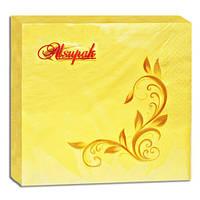 Салфетки бумажные Alsupak 2-х слойная 33*33 см