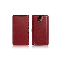 Чехол iCarer для Samsung Galaxy Note 3 Luxury Red (side-open)