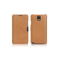 Чехол iCarer для Samsung Galaxy Note 3 Luxury Brown (side-open)