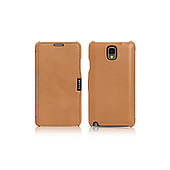 Чехол iCarer для Samsung Galaxy Note 3 Luxury Brown (side-open)