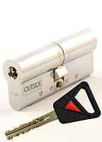 Цилиндр замка Abloy Novel CY 322U 65мм (32,5x32,5) хром CR ключ-ключ