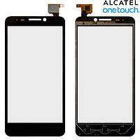 Touchscreen (сенсорный экран) для Alcatel One Touch 6030 Idol, черный, оригинал