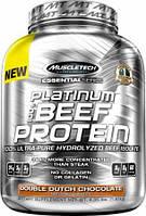 Platinum 100% Beef Protein Muscletech, 1800 грамм