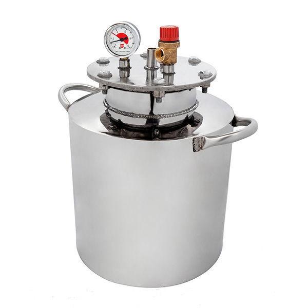 Автоклав HousePro-16 из пищевой нержавейки 16 пол литровых банок (7 литровых)