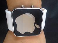 Безупречные спортивные часы Apple LED WATCH, Эпл Лед белые. Хорошее качество. Дешево.  Код: КГ858