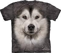 3-D футболка ALASKAN MALAMUTE FACE