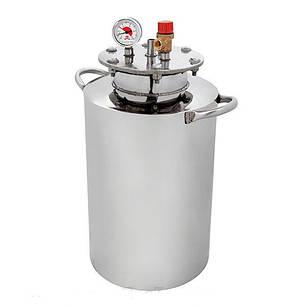 Автоклав HousePro-24 из пищевой нержавейки 24 пол литровых банок (14 литровых), фото 2