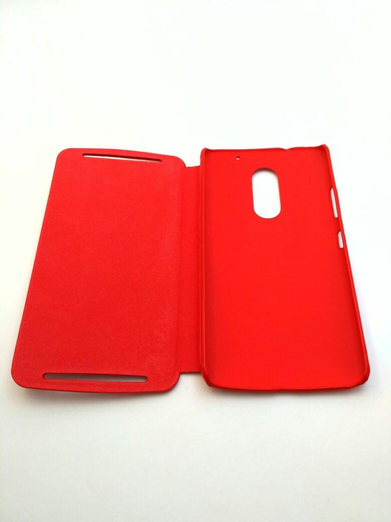 Чехол книжка на Lenovo Vibe X3 кожаный для мобильного телефона.