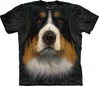 3-D футболка BERNESE MOUNTAIN DOG FACE