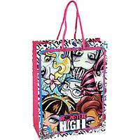 Пакет подарочный Monster High ,(18х24х8 см)
