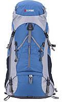 Большой походный рюкзак Hiker 75, высококачественный полиэстер, каркас, размер 74х21х27 см, 2,59 кг
