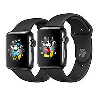 Apple Watch Series 2 42mm Space Black Stainless Steel Case with Black Sport Band MP4A2 [42mm|Black Sport Band]