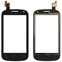 Оригинальный тачскрин сенсор (сенсорное стекло) Alcatel One Touch Pop C3 OT-4033 4033A 4033D 4033E 4033Xчерный