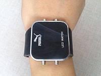 Модные спортивные наручные часы Puma LED WATCH. Стильный аксесуар на каждый день. Доступная цена.  Код: КГ860