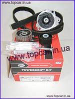 Комплект ГРМ+водяна помпа Fiat Doblo I 1.9 JTD Gates Німеччина KP55500XS