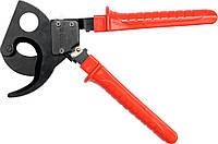 Кабелерез секторный для алюминиевых и медных кабелей S=380мм²; L-380мм YATO YT-18602., фото 1