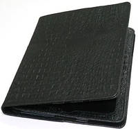 Чохол до планшету iPad2 (м.1607) ЧОРН. крокодил