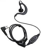 Гарнитура с заушиной EHM 04 для радиостанций Motorola / Hytera / Zastone