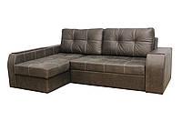 """Угловой диван """"Элит"""" ткань 1 ( Прессованная замша)"""