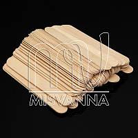 Шпатель деревяный для воска 14.8 х 1.8 см, 100 шт