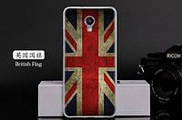 Силиконовый чехол для Meizu M5 note с картинкой британский флаг