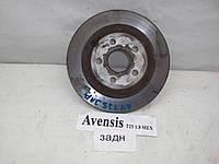 Диск тормозной задний Toyota Avensis T25 (2003-2008)