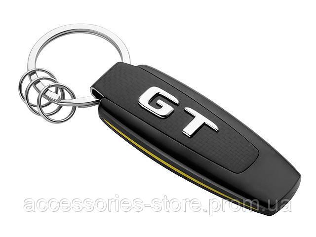 Брелок Mercedes-Benz Key Ring, AMG GT, Black/Silver/Yellow