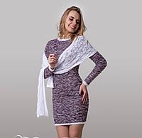 Молодежное платье с шарфиком Ангелка