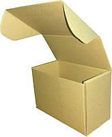 Коробка самосборная бурая (микрогофрокартон) 160х85х110