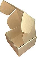 Коробка самосборная бурая (микрогофрокартон) 150x150x95