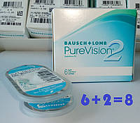BAUSCH+LOMB, PureVision 2 +5.00