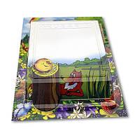 Бумажный 3D-блок для записей «Колобок», серия «Сказки»