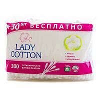 Ватные палочки Lady Cotton (300 шт/уп)