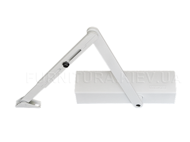 Дверной доводчик Geze TS 2000 белый, фото 2