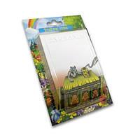 Бумажный 3D-блок для записей «Три поросенка», серия «Сказки»