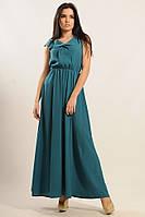 Женское платье летнее макси в романтическом стиле