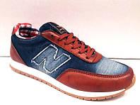 Кроссовки женские модные джинса New Balance NB0005