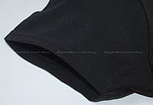 Женская Футболка Чёрная Классическая Fruit of the loom 61-372-36 XXL, фото 3