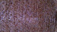 Кокосовая койра латексированная на полипропиленовом каркасе в рулонах 1300 гр/м2