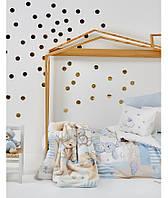 Детский набор в кроватку для младенцев Karaca Home - Honey Bunny 2017-1 голубой (10 предметов)