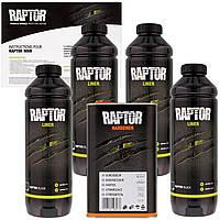 Защитное покрытие повышенной прочности U-POL RAPTOR 4л